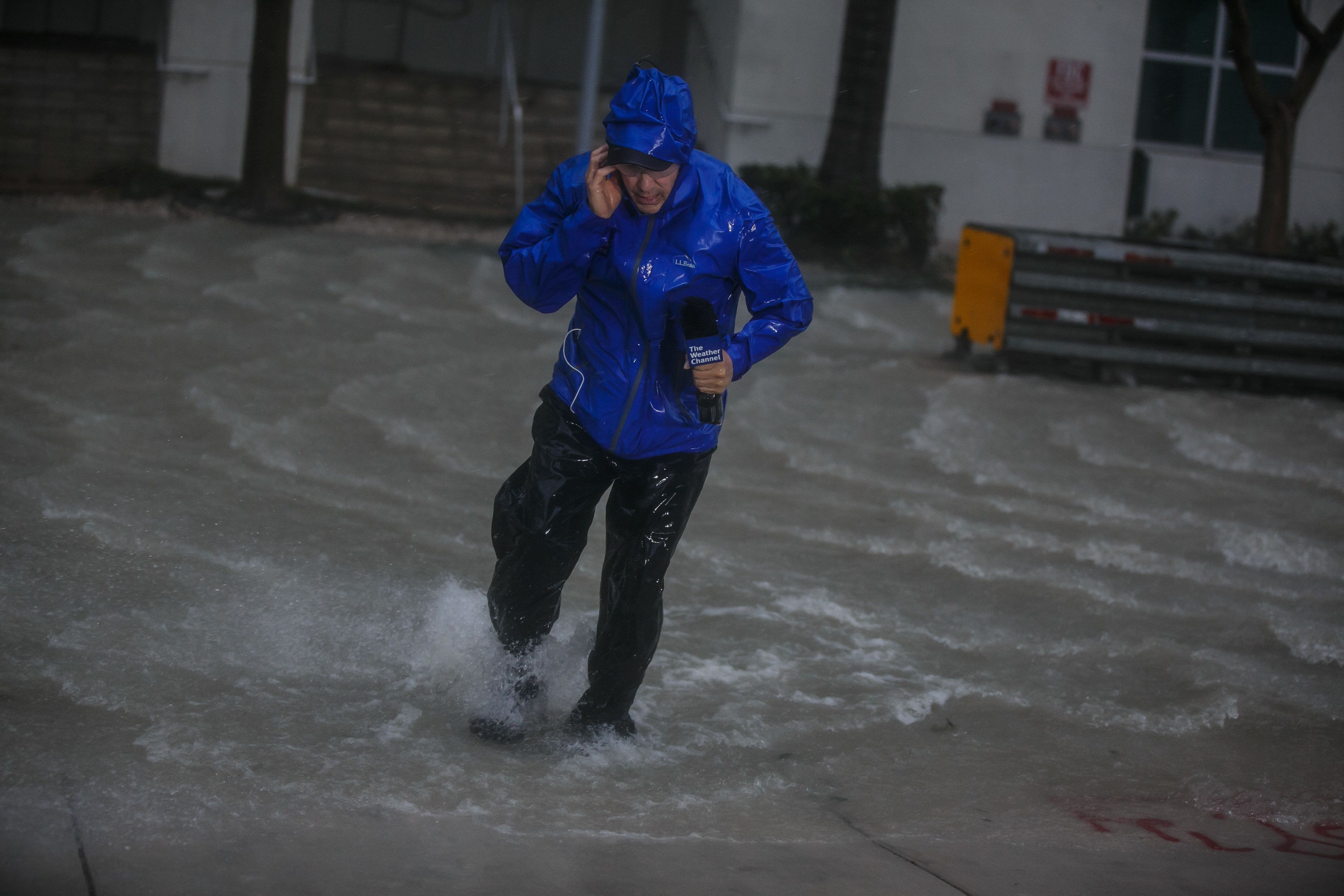 8 Insane Moments Journalists Risked Their Lives To Report On Hurricane