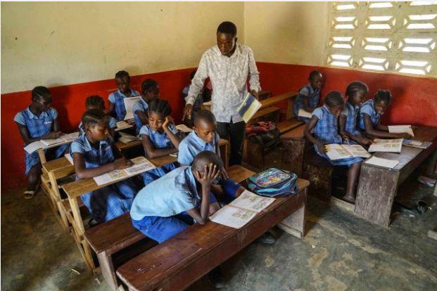 Bridge International Academies school in Kollita Wolah, Liberia