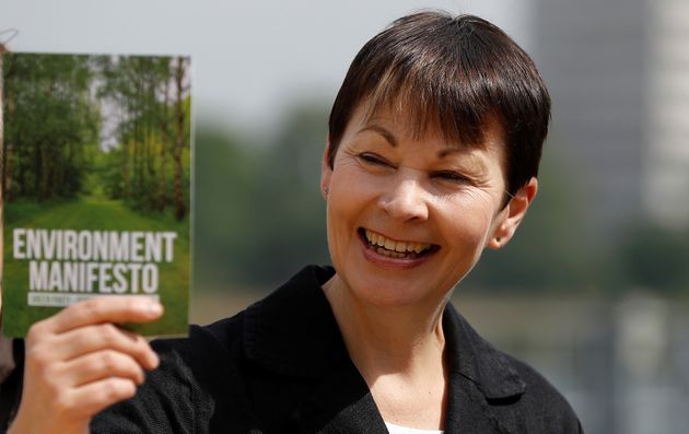 Caroline Lucas wants to see an end to nuclear