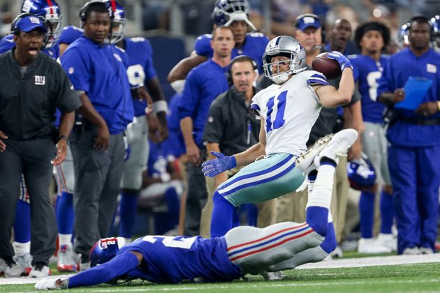 Cole Beasley made his sensational catch in the fourth
