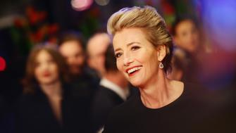 BERLIN, GERMANY - FEBRUARY 15:  Emma Thompson attends the 'Alone in Berlin' (Jeder stirbt fuer sich) premiere during the 66th Berlinale International Film Festival Berlin at Berlinale Palace on February 15, 2016 in Berlin, Germany.  (Photo by Vittorio Zunino Celotto/Getty Images)
