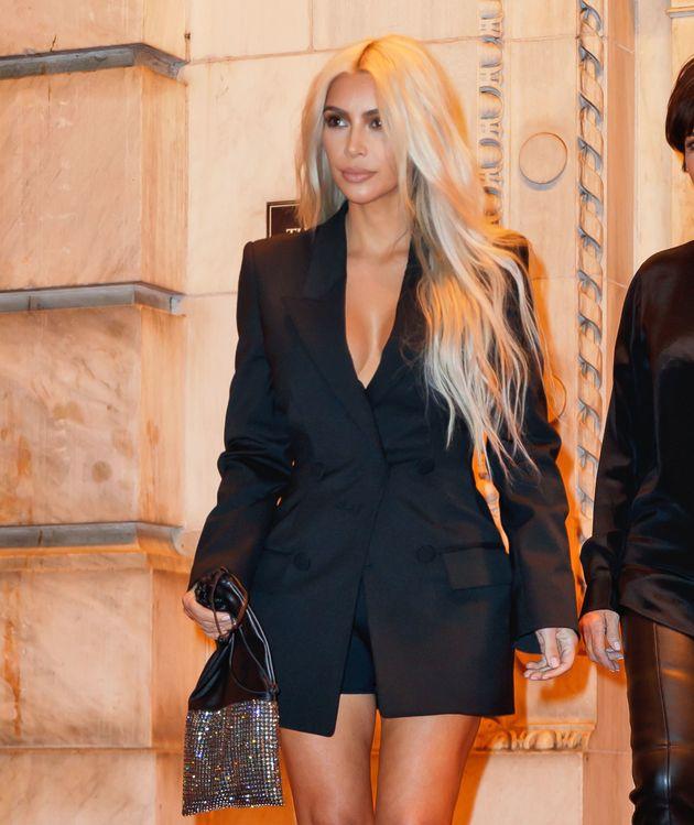 Kim Kardashian and Kris Jenner on Sept. 9 in New York