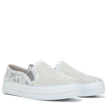 """<a href=""""http://www.famousfootwear.com/en-US/Product/18915-1040804/Skechers/Silver/Womens+Shiny+Dancer+Slip+On+Sneaker.aspx"""""""