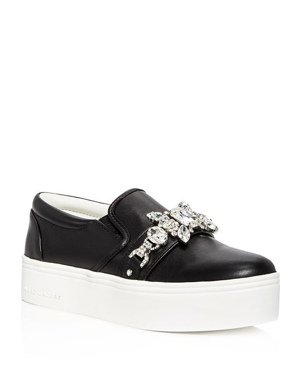 "<a href=""https://www.bloomingdales.com/shop/product/marc-jacobs-womens-wright-embellished-leather-slip-on-platform-sneakers?I"