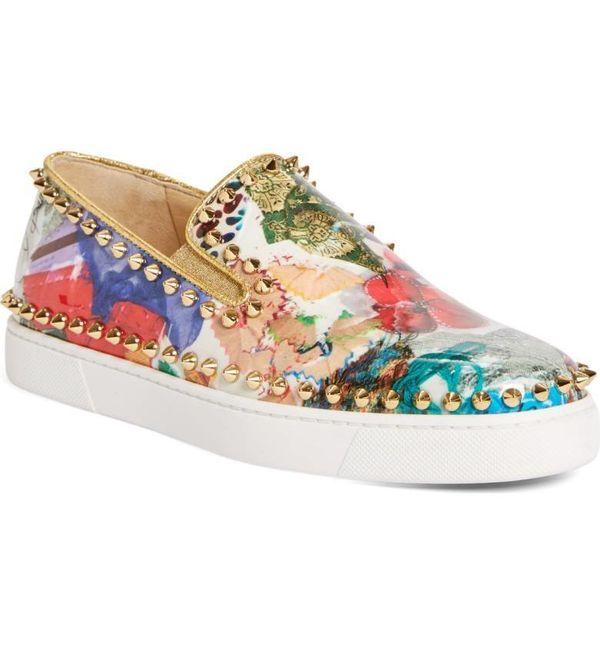 "<a href=""http://shop.nordstrom.com/s/christian-louboutin-pik-boat-slip-on-sneaker-women/4568937"" target=""_blank"">Shop them he"