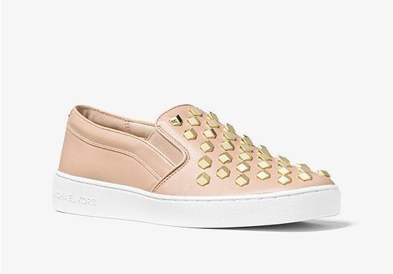 "<a href=""https://www.michaelkors.com/product/keaton-studded-leather-slip-on-sneaker/_/R-US_43S7KTFP2L?colorExplode=true&s"