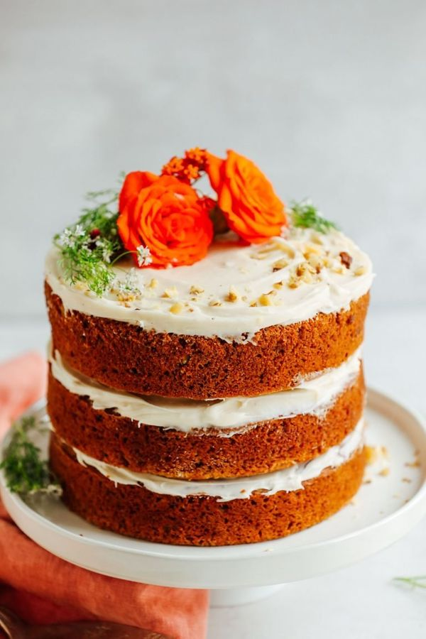 Two Layer Carrot Cake Recipe