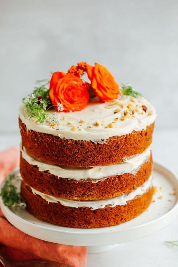 Gluten Free Vegan Carrot Cake Uk