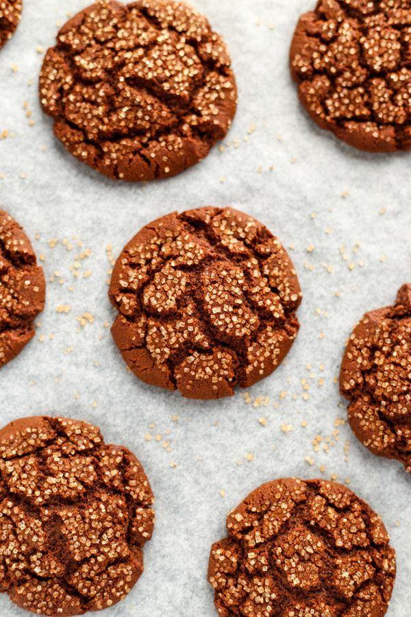 "<strong>Get the <a href=""http://www.ilovevegan.com/vegan-molasses-cookies/"" target=""_blank"">Molasses Cookies recipe</a>"