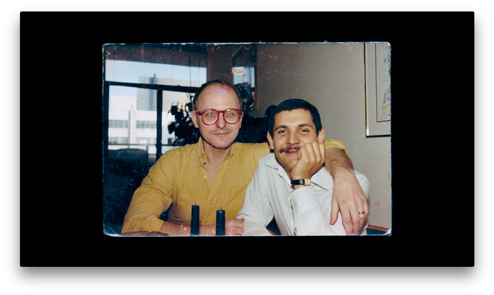 """The film,""""Memories of a Penitent Heart,"""" examines the life ofMiguel Dieppa (right), who died in 1987."""