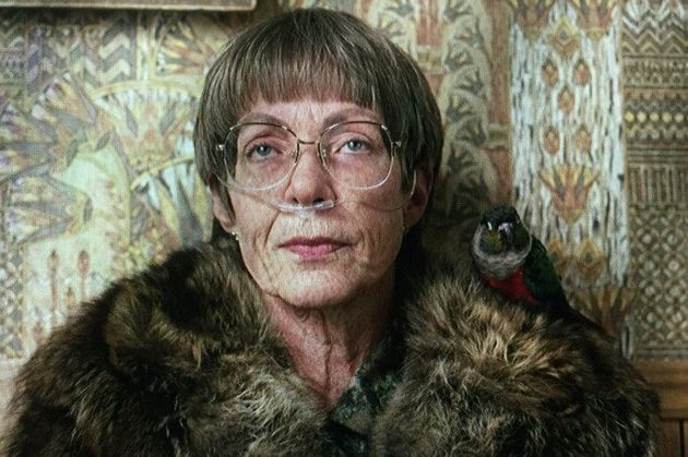 Allison Janney's New Favorite Co-Star Is The Bird That Sits On Her Shoulder In 'I,
