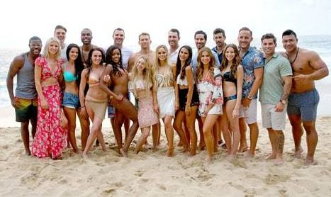 <em>Bachelor In Paradise</em> Cast, Diggy is all the way to the left