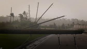 Hurricane Irma shrouded Florida in darkness