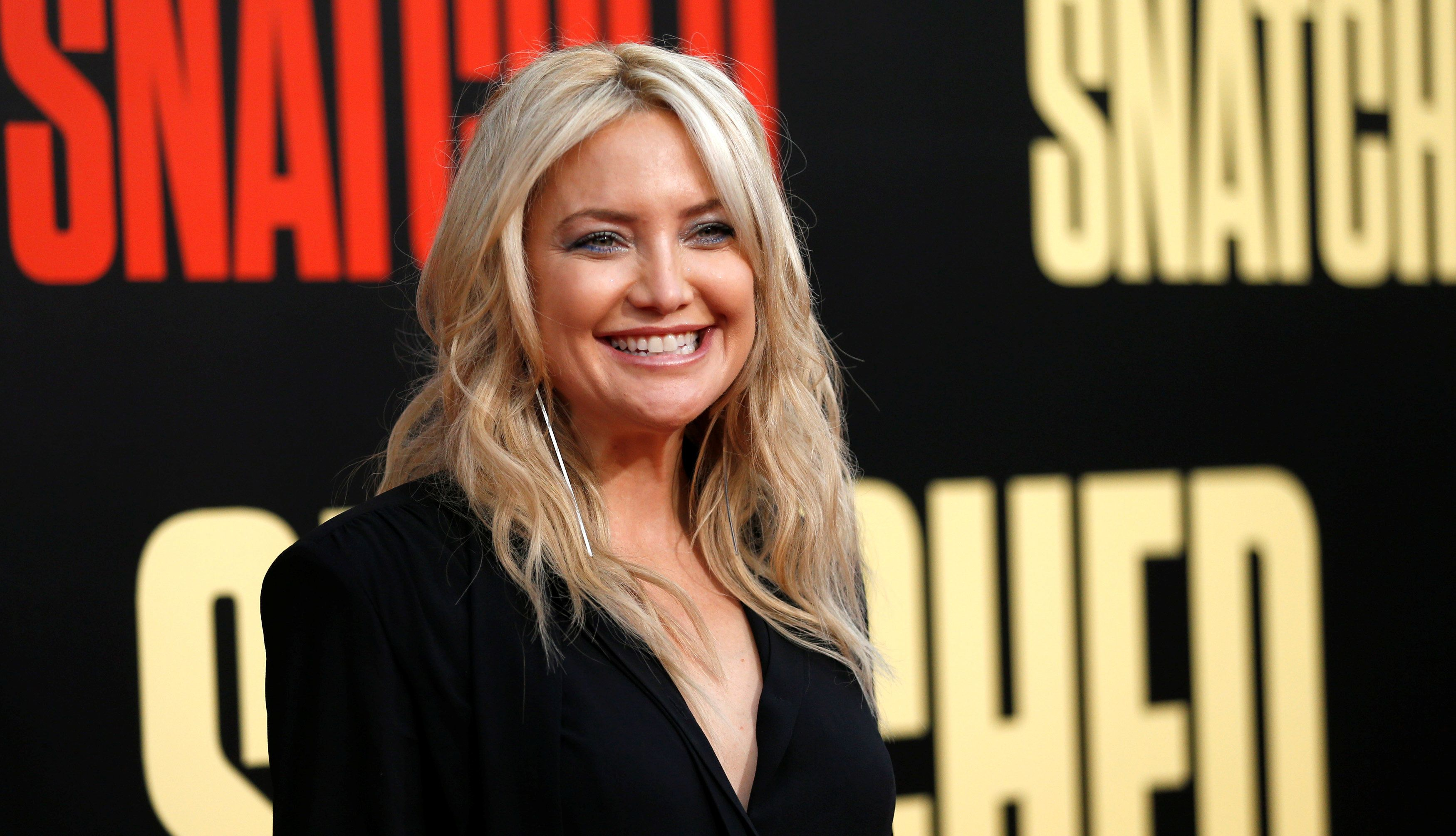 """Kate Hudson's responseto a question about """"the laziest thing"""" she's ever done has caused controversy."""