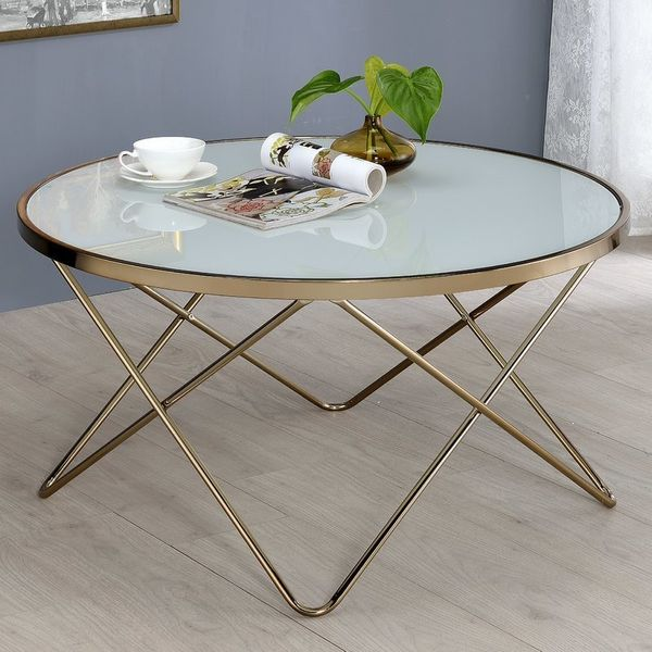 Cheap Coffee Tables That Look Expensive HuffPost - Wayfair glass top coffee table