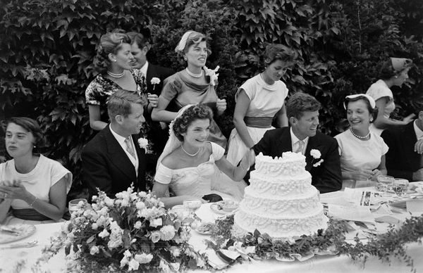 Must see photos from john f kennedy and jackie kennedys wedding view of the head table of at the kennedy wedding reception newport rhode island junglespirit Gallery
