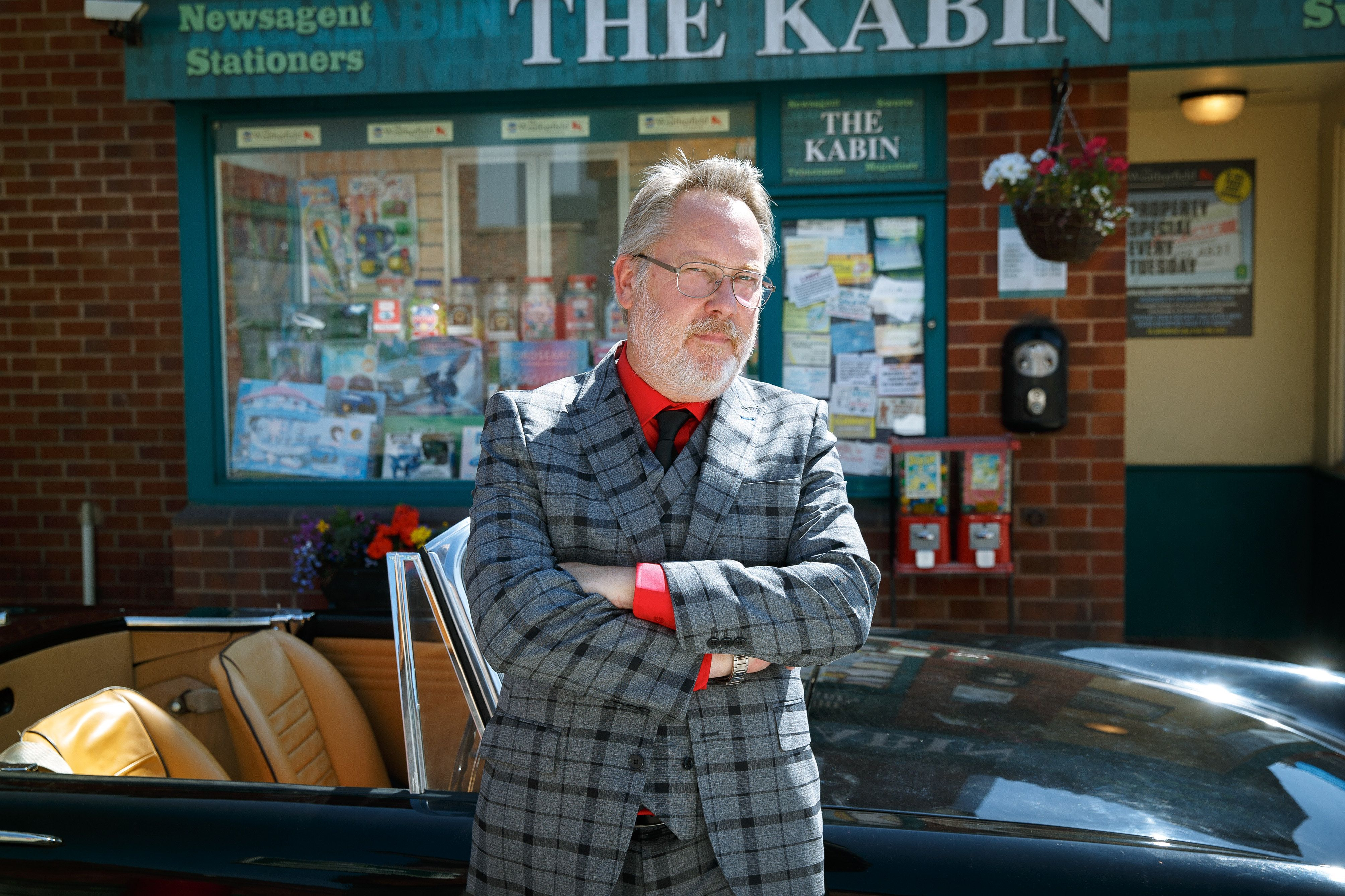 Spoiler Alert! Vic Reeves Dishes The Dirt On His 'Coronation Street' Character, Ahead Of Soap