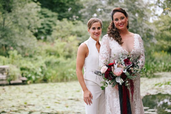 """Megan and Erica's Chicago wedding day."" -- <i>Leah Moyers</i>"