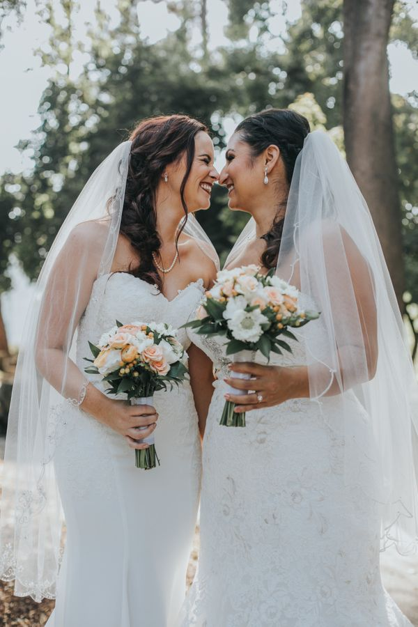 """Shannen and Jennifer said 'I do' in Oakland, California."" -- <i>Jamie Thrower</i>"
