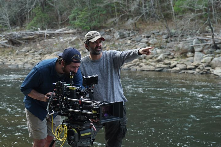 Director Greg Yaitanes on location.