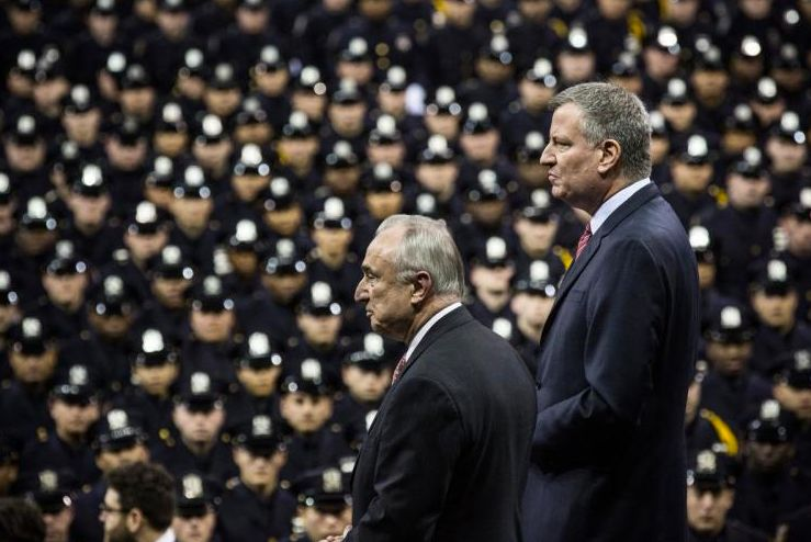 Mayor de Blasio and Bill Bratton oversee the nation's largest police force.