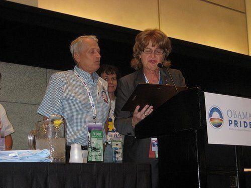 <p>Rick receives 2008 Jane Fee Award DNC Denver Convention</p>
