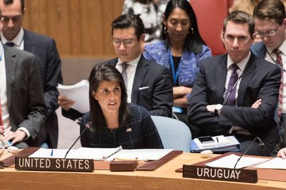 Ambassador Haley speaks to UN Security Council