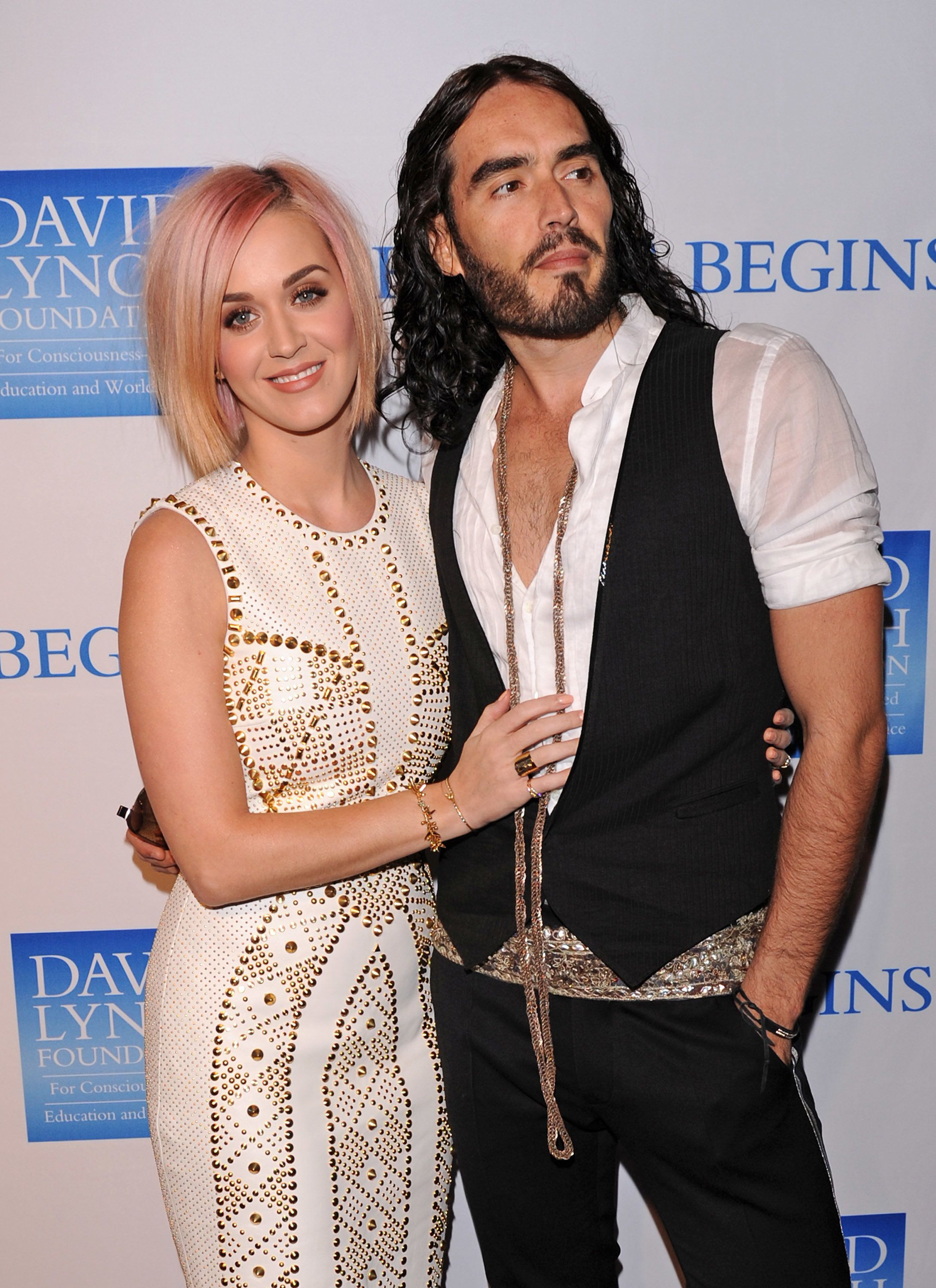 Russell Brand Says He Wants To Patch Things Up With 'Extraordinary' Ex-Wife Katy