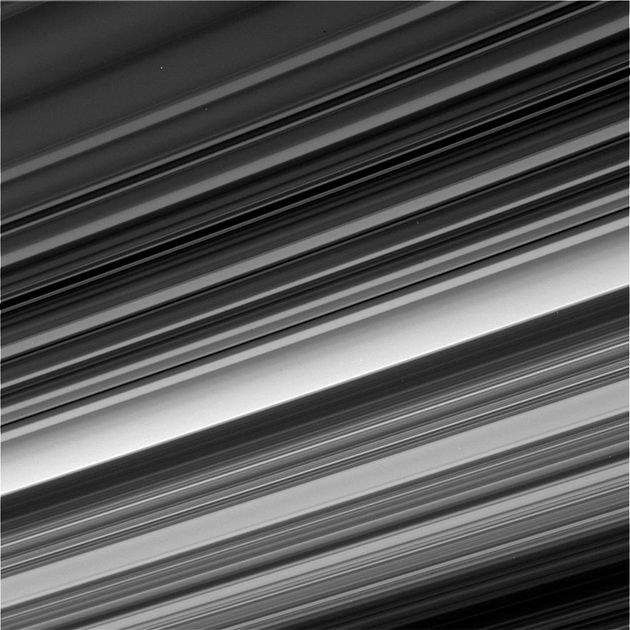 Before It Crashes, Cassini Gave Us This Stunning View Of Saturn's Rings Up
