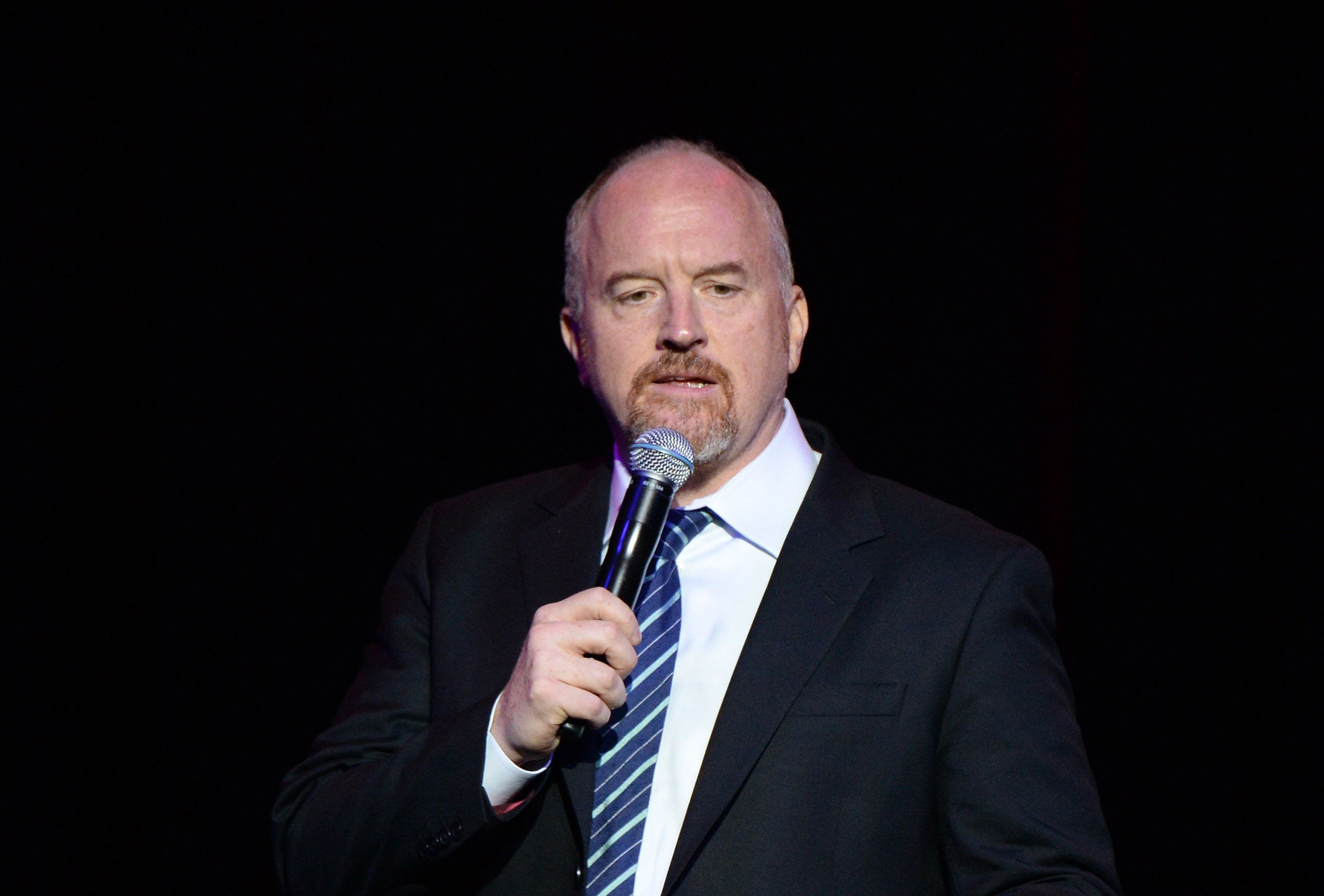 Louis CK courting controversy with new movie""