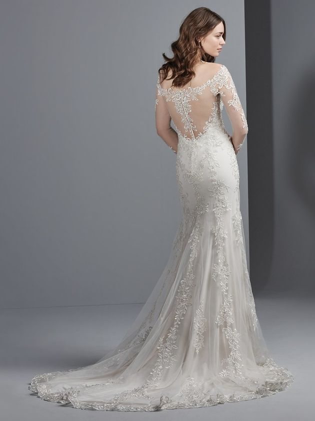 Mrs Greys Wedding Dress From Fifty Shades Freed Is Totally Pinterest Worthy