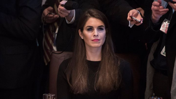 Hope Hicks, who was serving as interim communications director at the White House, has been named to the position on a permanent basis.