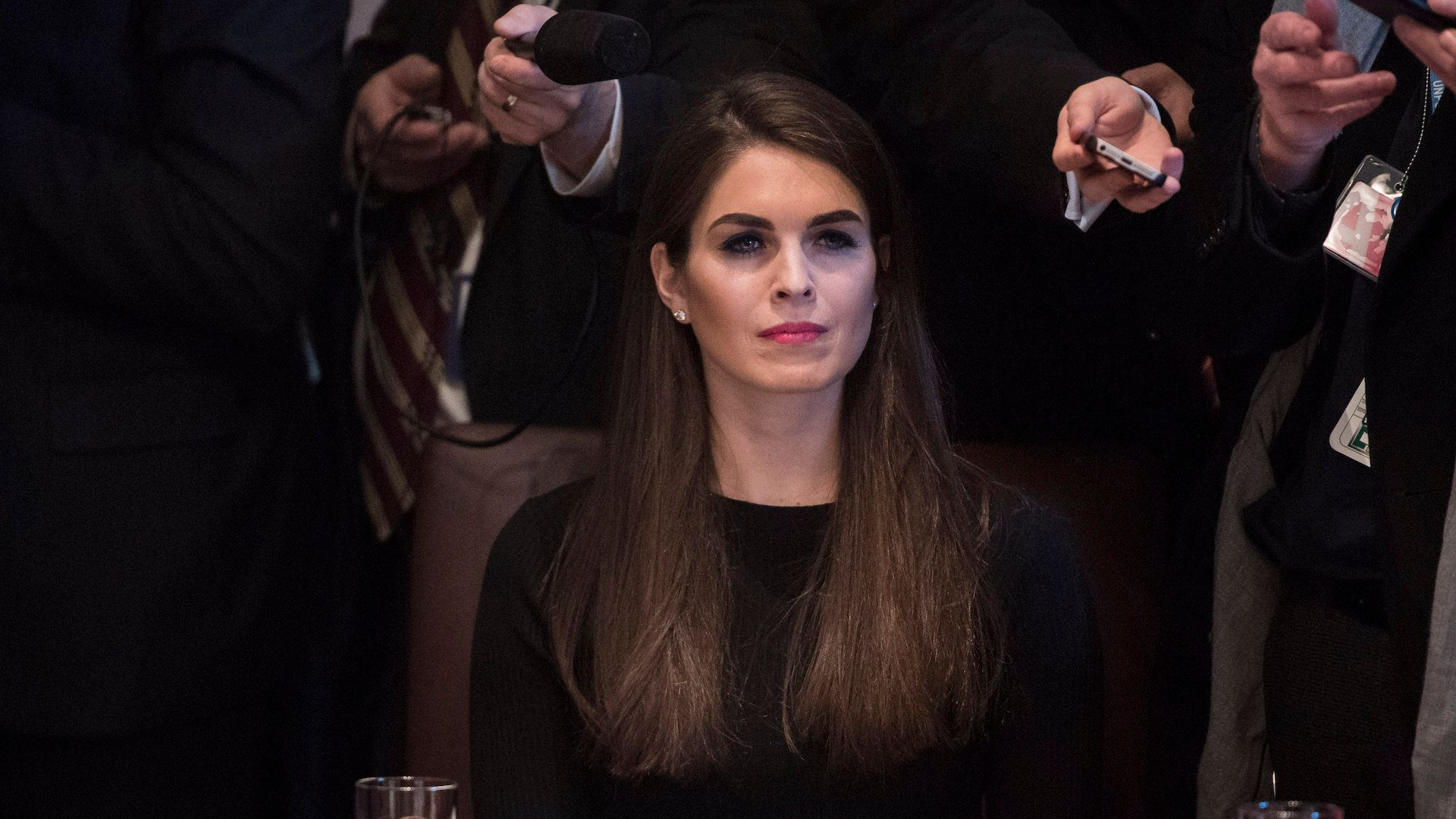 Hope Hicks, who was serving as interim communications director at the White House, has been named to the position on a p