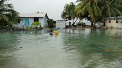 Climate Refugees Confronted With The Effects Of Rising
