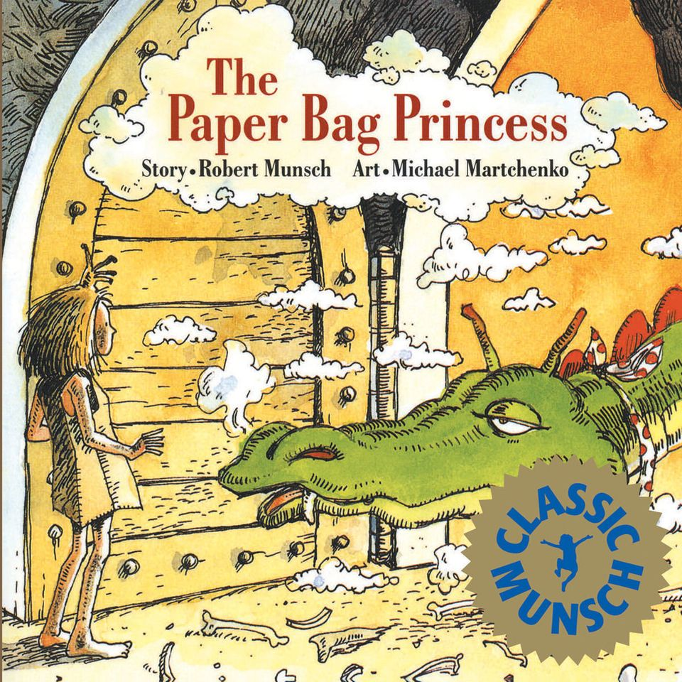 """In this not-so-traditional tale, the princess ends up saving her prince from harm's way. Get it <a href=""""https://www.amazon.c"""
