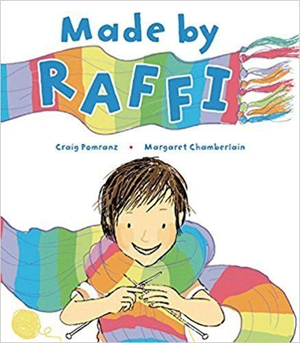 Made by Raffi is the story of a little boy who is teased for sewing and knitting. Yet, it's his crafty talents that end up sa