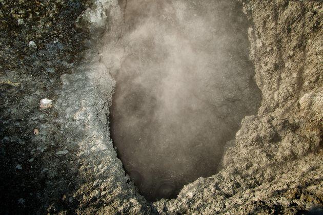 The tragedy occurred at the crater of Solfatara di Pozzuoli, near