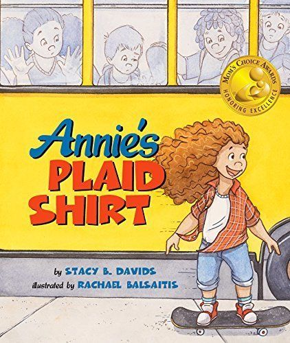 Annie loves her plaid shirt, but when she's asked to wear a dress one day, she feels so out of place. Until she comes up with