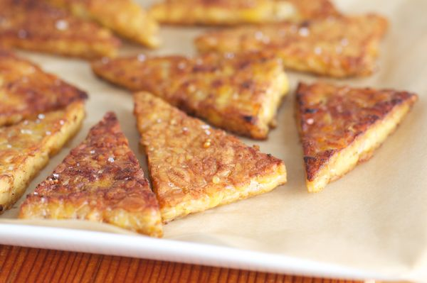 """Tempeh is just fermented soybean, andit's <a href=""""http://www.cookinglight.com/eating-smart/nutrition-101/probiotic-foo"""