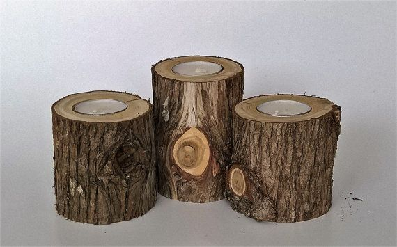 "<a href=""https://www.etsy.com/listing/506986017/rustic-cedar-tea-light-candle-holder-set"" target=""_blank"">Shop them here</a>."