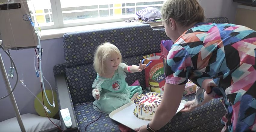 Nurses Throw Birthday Party For 3-Year-Old Separated From Family By Hurricane