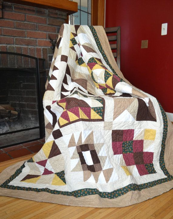 A handmade quilt is a great way to add extra warmth to your bed in the cooler months, or is the perfect throw blanket to pull