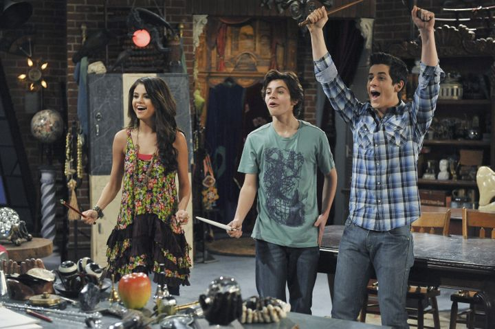 "Selena Gomez in ""Wizards of Waverly Place."""