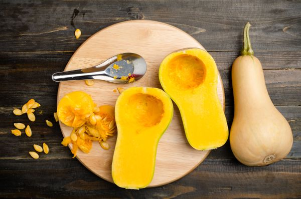 "<strong>Nutrient Density Score: 13.89<br><br></strong>Winter squash, like butternut, is<a href=""http://www.organicauthority.c"