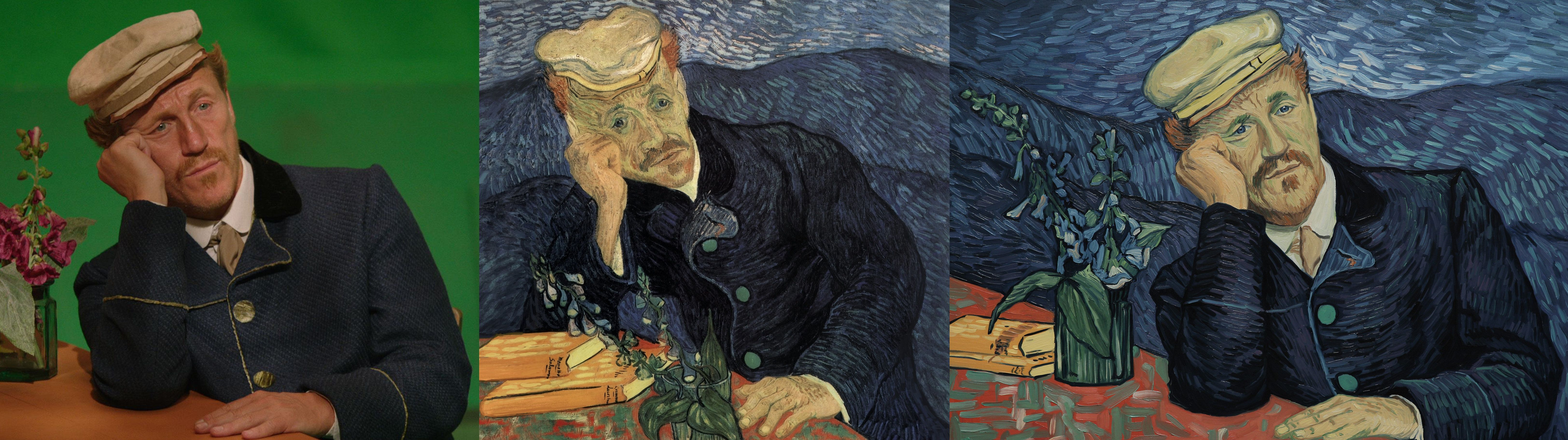 Watch Actors Transform Into Living Van Gogh Paintings Before Your Eyes images 5