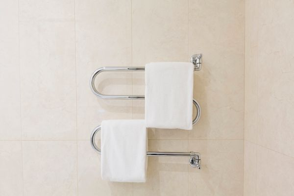For that cozy, out-of-the-dryer feeling that hotels provide you with, consider getting a towel warmer for your bathroom.&nbsp
