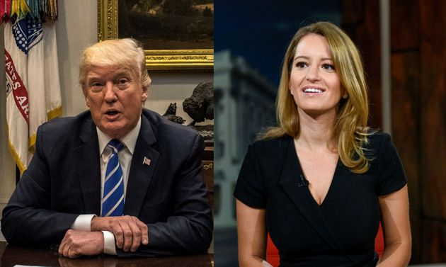 Journalist Katy Tur Recounts Moment Trump Came Out Of Nowhere And Kissed
