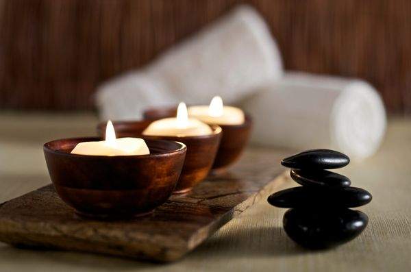 Scent can be a simple but powerful addition to your spa-like bathroom. Not only will natural fragrances help you unwind, but