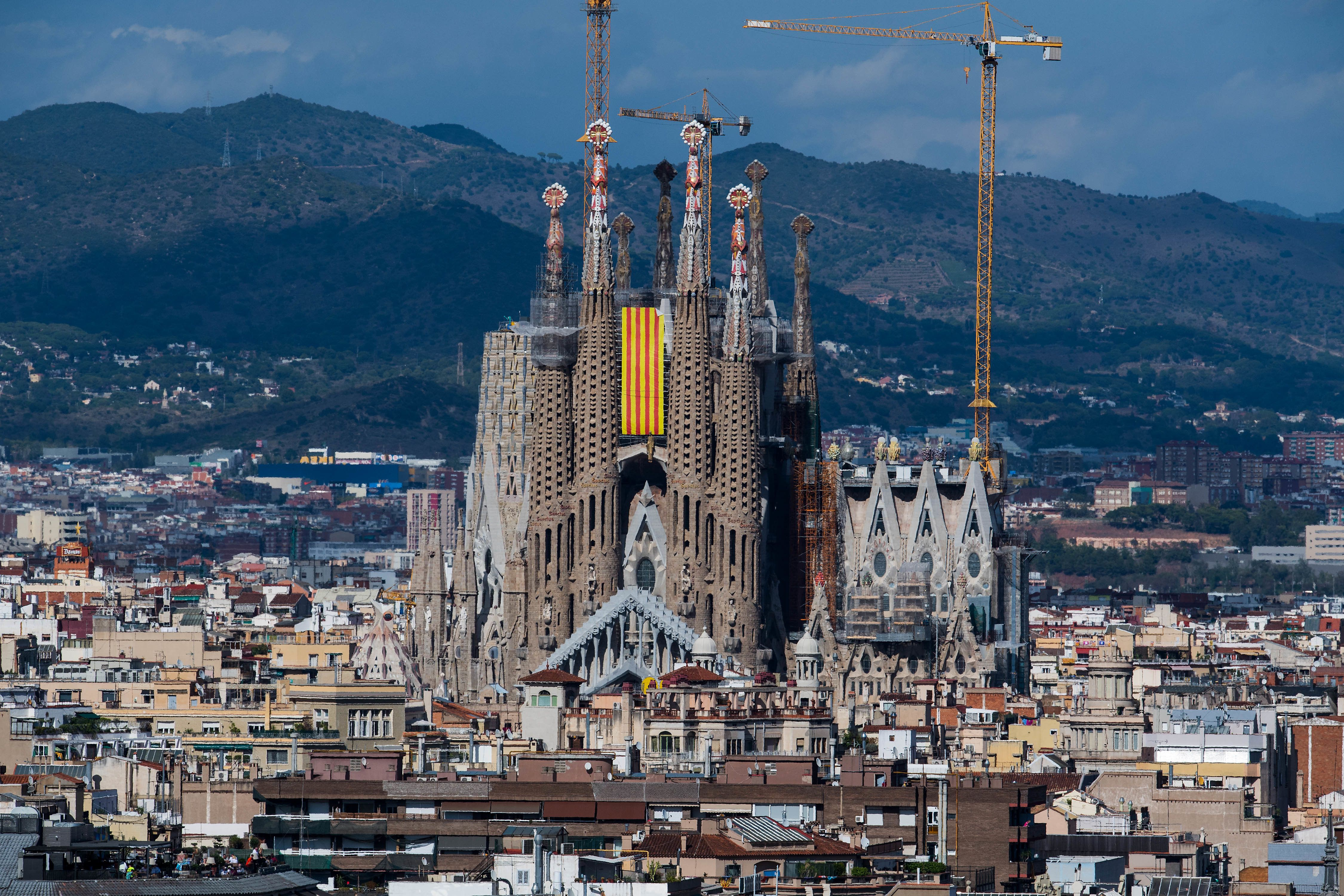 Barcelona's Sagrada Familia is evacuated