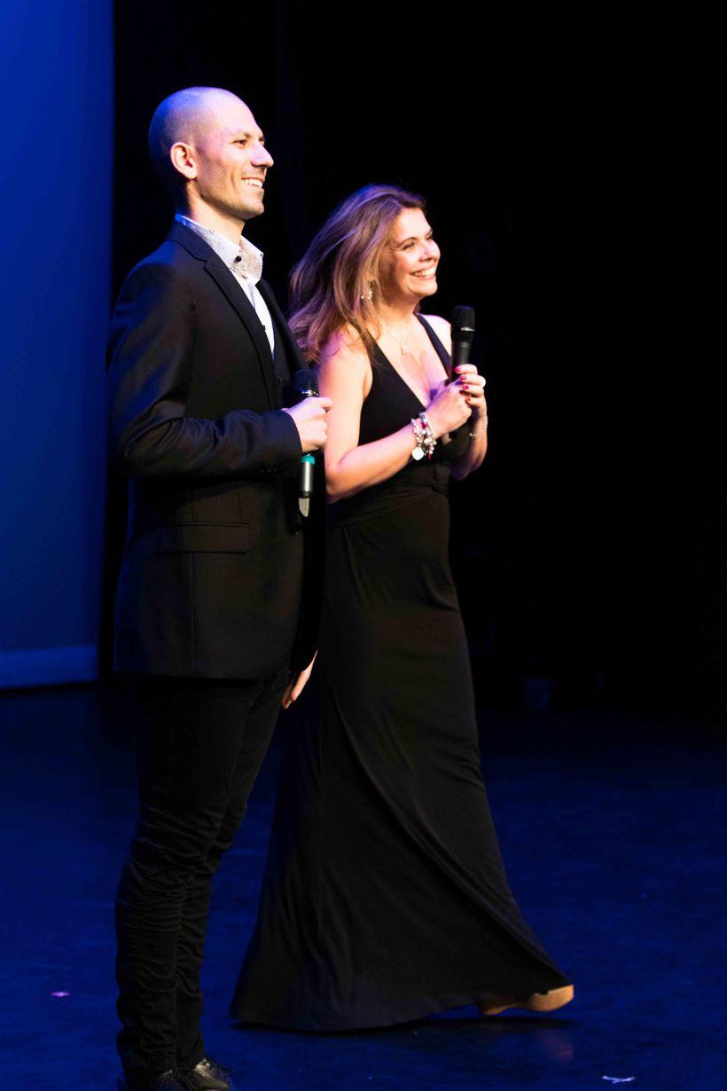 Antonio Fini and Ornella Fado host Italian International Awards 2017.